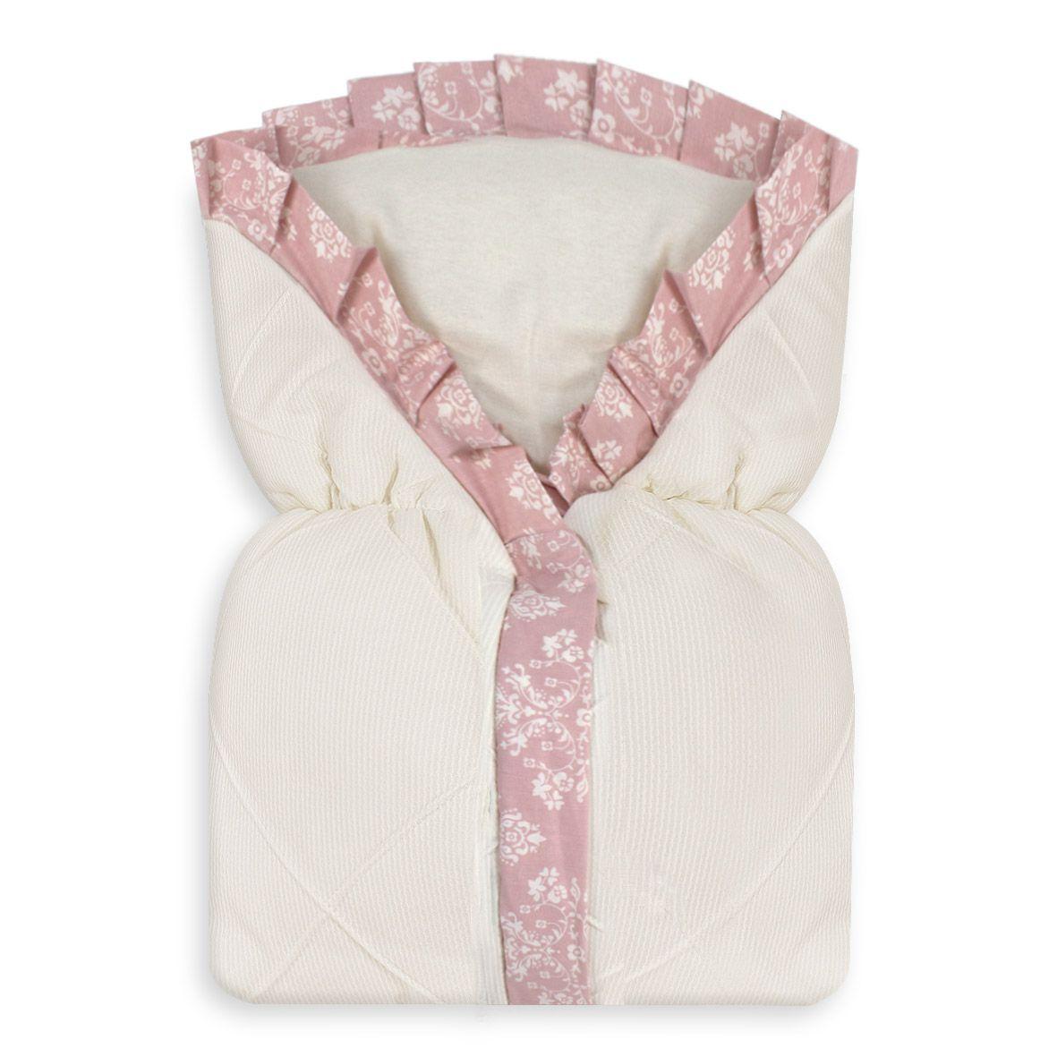 Saco de Bebê 100% Alg. - Provençal Rosê