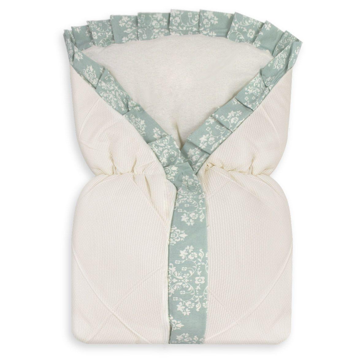 Saco de Bebê 100% Alg. - Provençal Verde