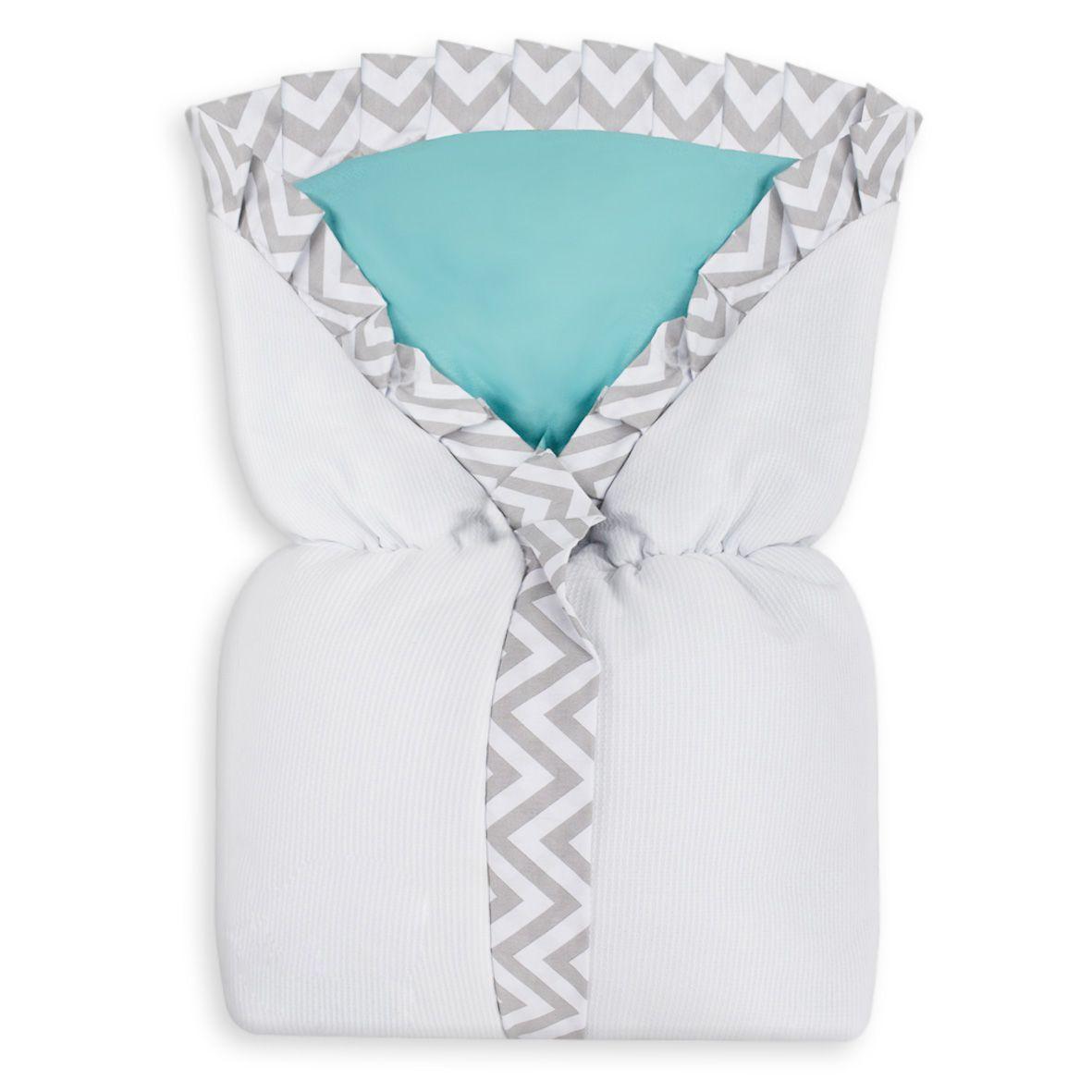 Saco de Bebê 100% Alg. - Chevron Tiffany