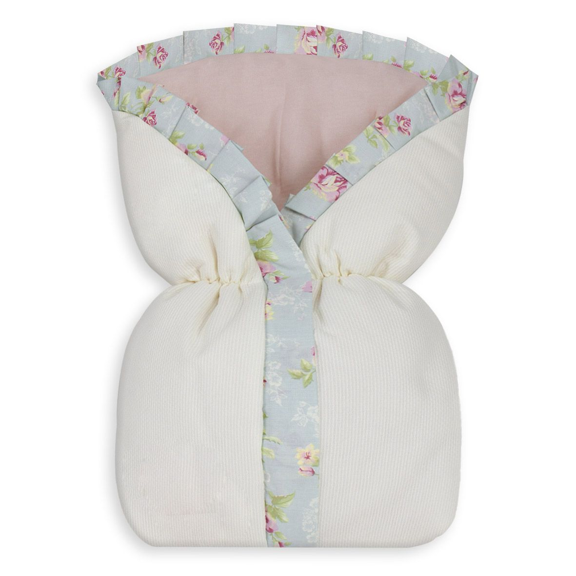 Saco de Bebê 100% Alg. - Ursa Realeza Floral