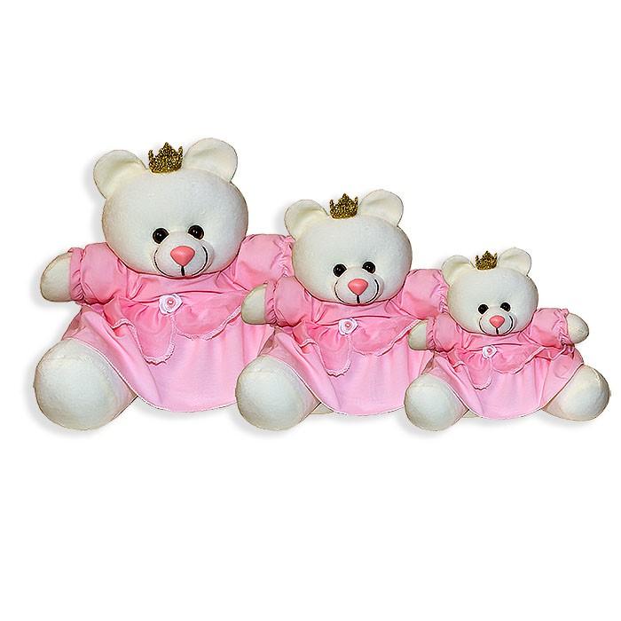 Trio de Ursinhas - Princesa Rosa