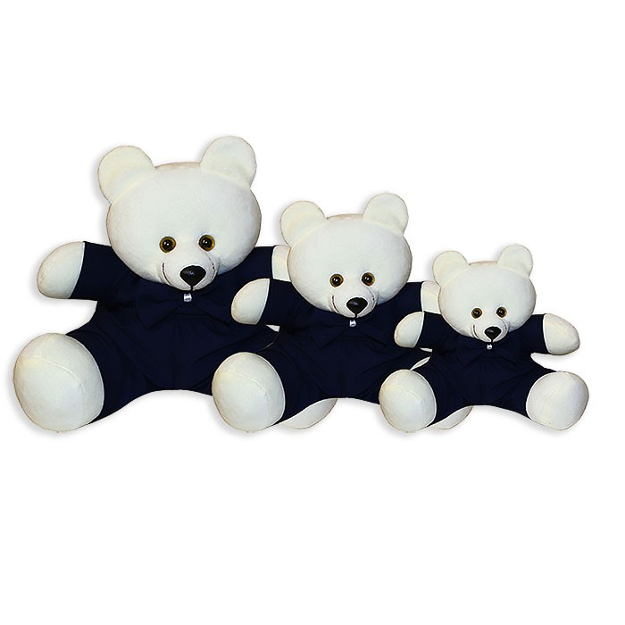 Trio de Ursinhos - Gravata Marinho