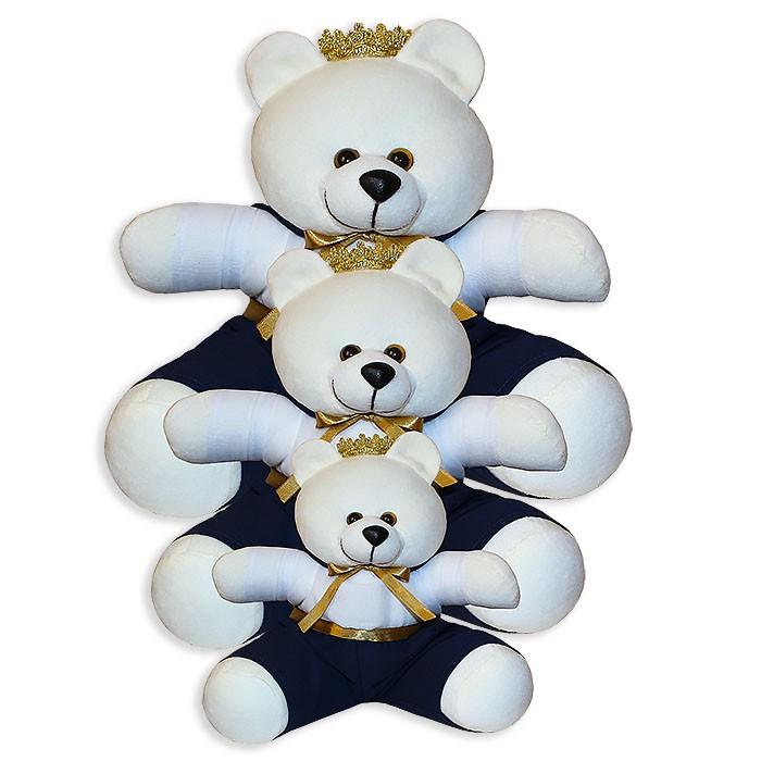 Trio de Ursinhos - Príncipe Marinho