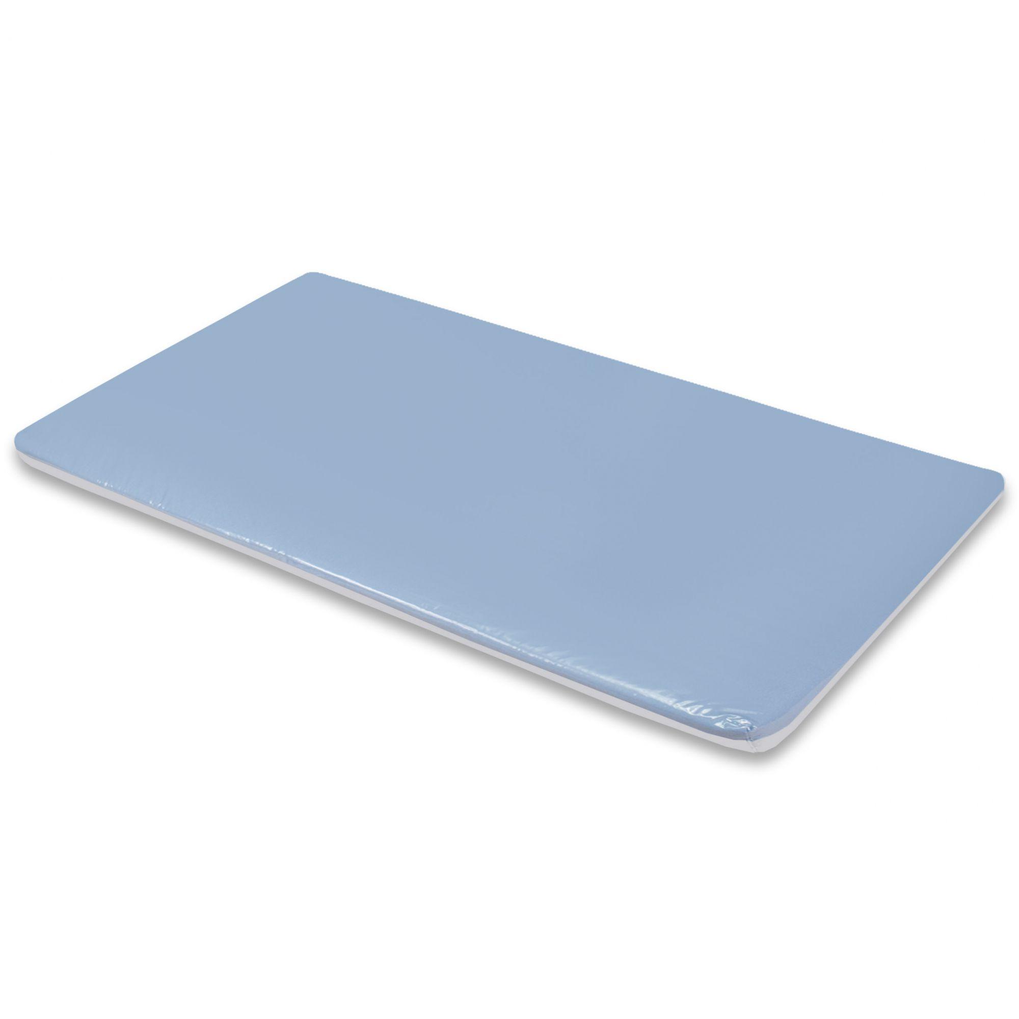 Trocador de Espuma - Azul c/ Branco