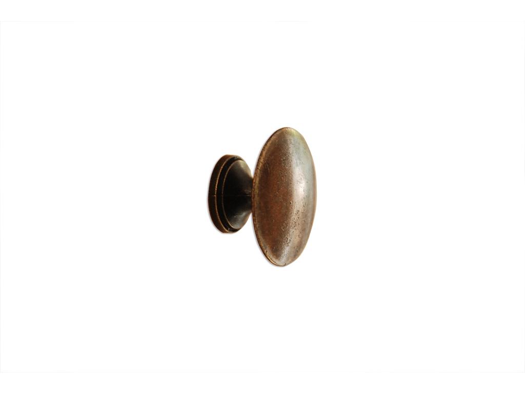Puxador Botão Grande Colonial OV