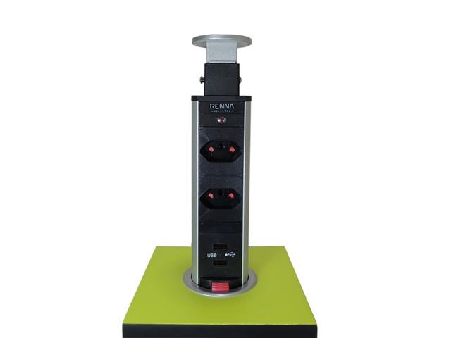 Torre Multiplug USB - RENNA
