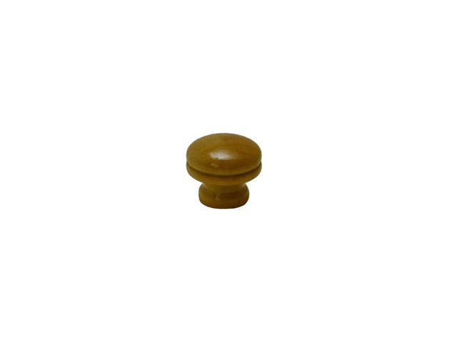 Puxador Torneado Cogumelo Pequeno - Marfim - BRAFIZA