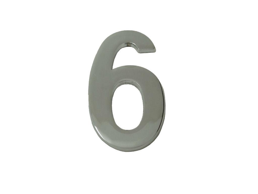 Número Residencial Liso CR - UNIÃO MUNDIAL
