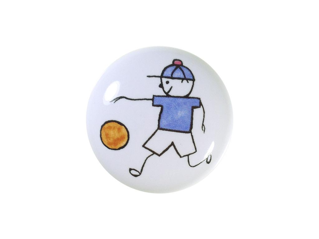 Puxador Menino Bola - Cerâmica A 054 - ITALY LINE