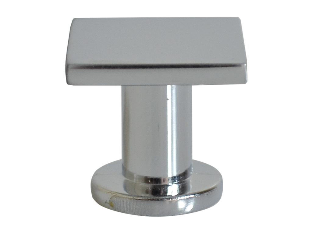 Puxador Quadro Cromado 25mm - ARCHI