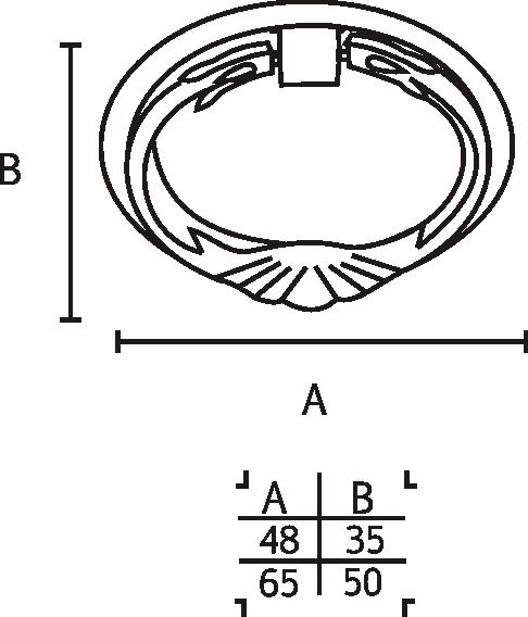 Puxador Colonial 102 - ITALY LINE
