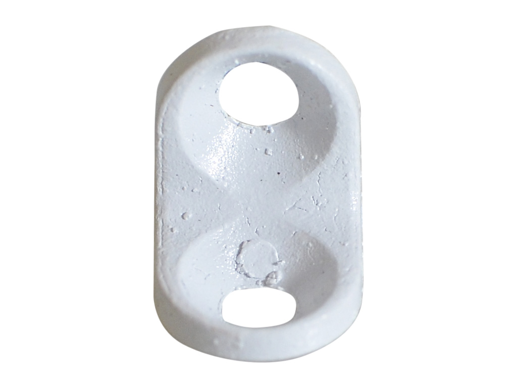 Cantoneira 13 X 13 2 Furos Branca - 3D