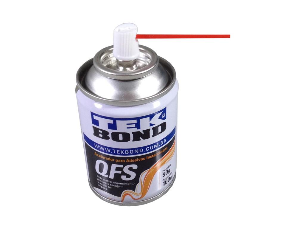 Acelerador Para Cola Qfs Aerosol 100 Ml - TEKBOND