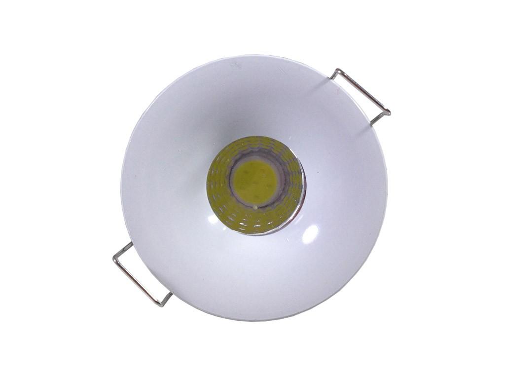 Luminária Led Redonda 3w-250 Lm Branco Frio Renna