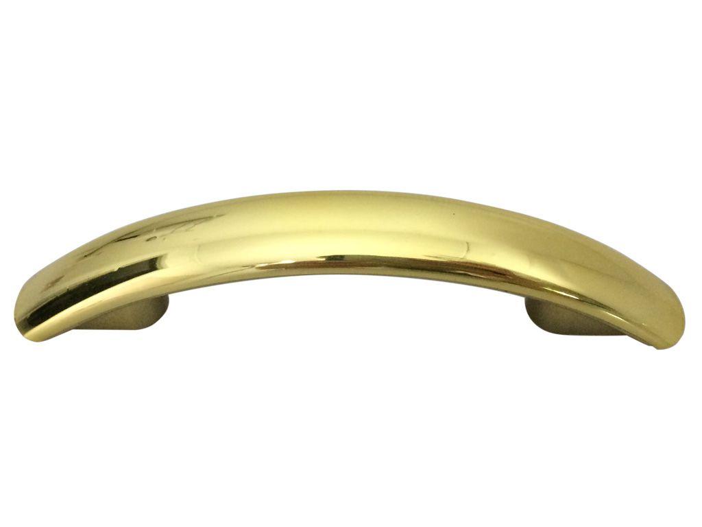Puxador Floripa Dourado 64mm - PLASMOBILE