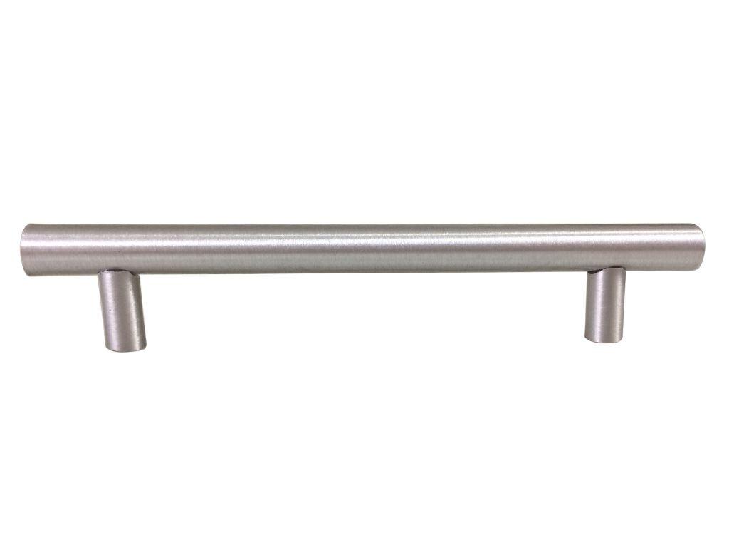 Puxador  Linea Alumínio 128mm Escovado - HASTVEL