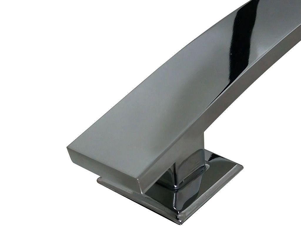Puxador Madri Alumínio 600mm Cromado - HASTVEL