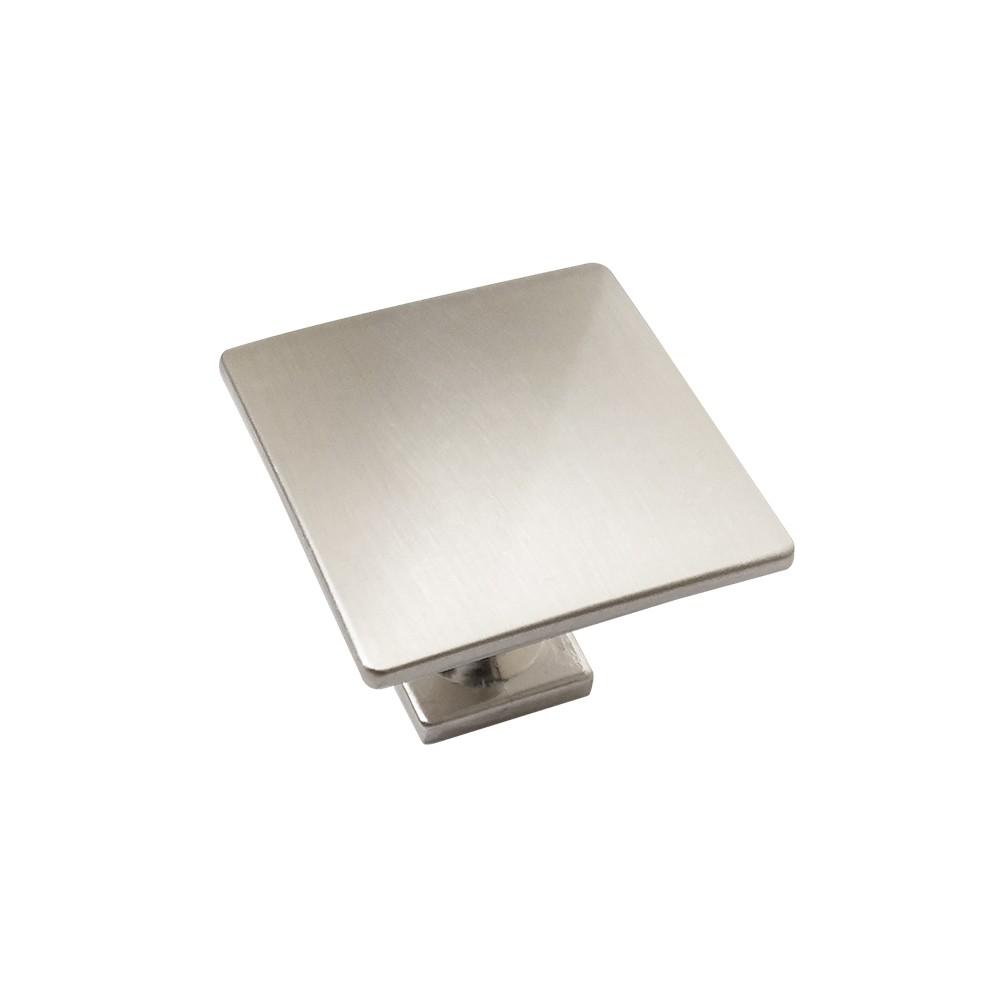 Puxador Ponto Quadrado Escovado 30 x 23,2