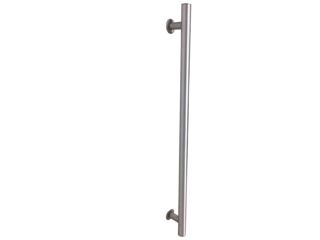 Puxador Tubular Alumínio 600mm Escovado - HASTVEL