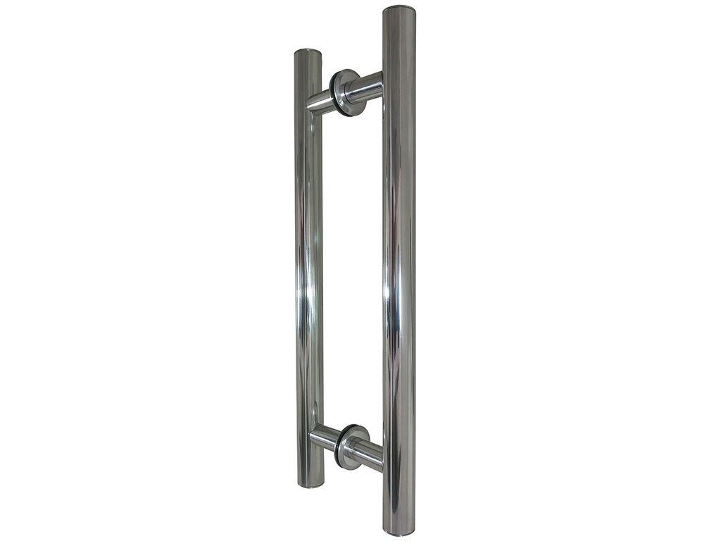 Puxador Tubular Alumínio 600mm Polido - HASTVEL