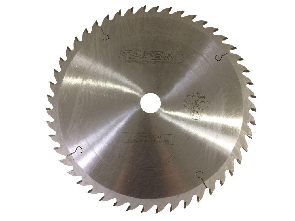 Serra Circular Para Madeira 300mm 48 Dentes 8030.03 - INDFEMA