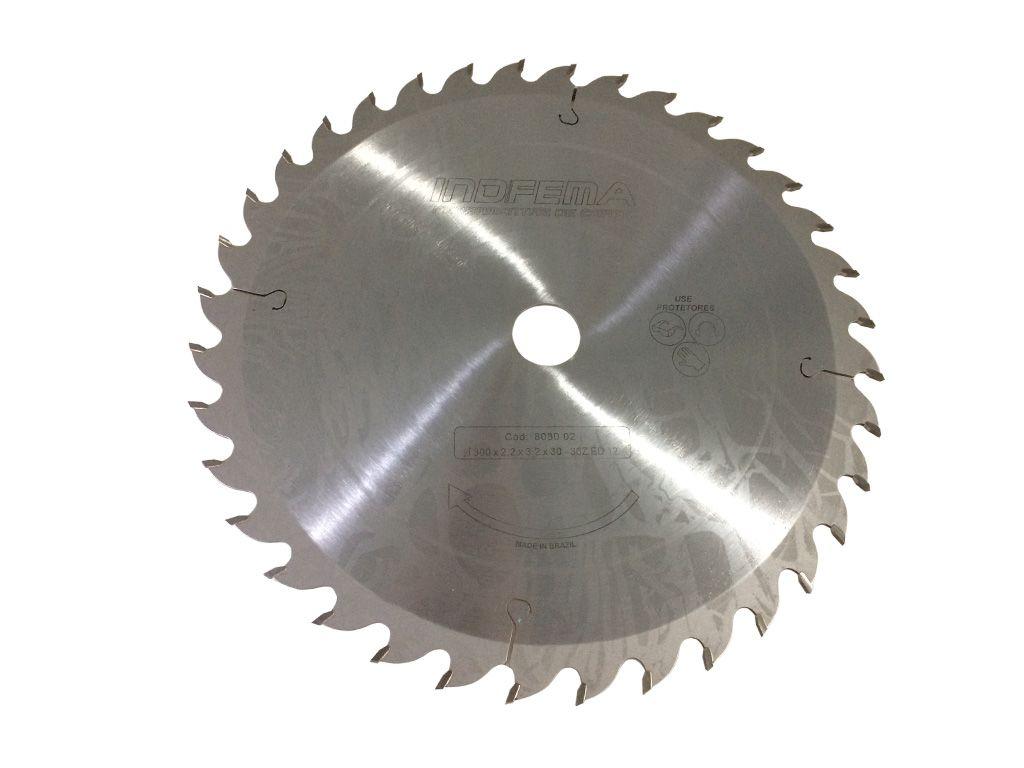 Serra Circular para Madeira 300mm 36 Dentes ED 8030.02 - INDFEMA
