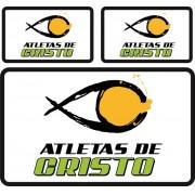 Tarja Atletas de Cristo - Grande