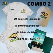 Combo 2 - Camiseta, boné e Bíblia ADC