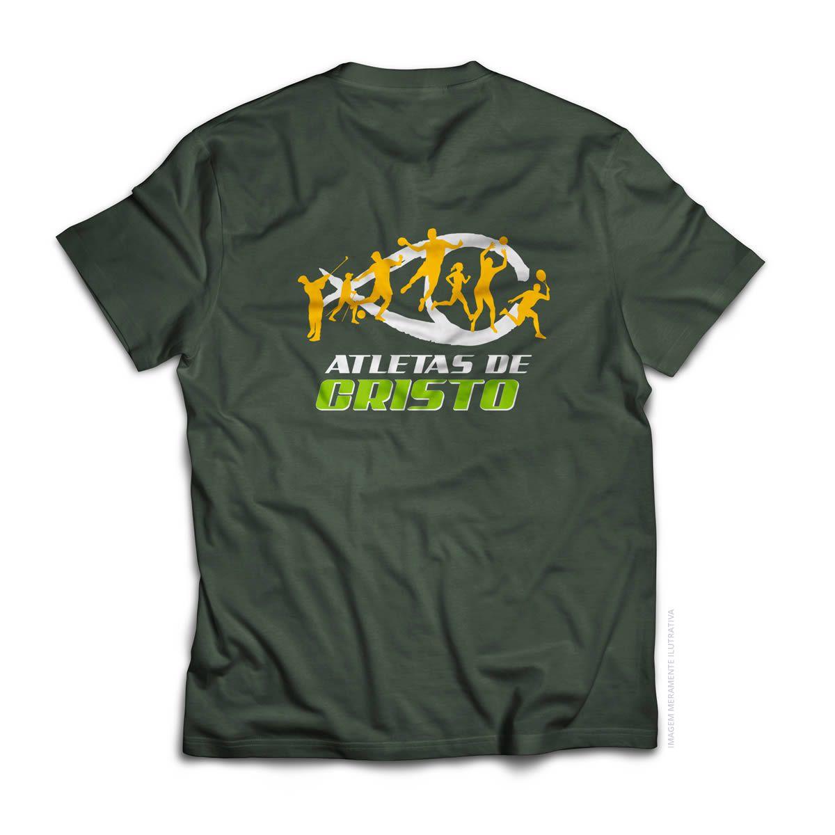 Camiseta Kappa - Atletas de Cristo