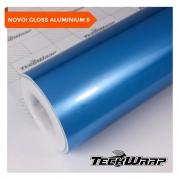 NOVO! Teckwrap Olympic Blue Gloss Aluminium  - GAL13 - S