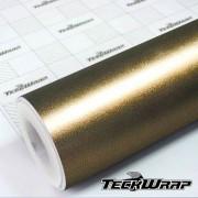 ECH17 Matte Metallic Bond Gold - Escolha entre metro linear ou rolo fechado