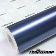 Teckwrap - ECH18 Matte Metallic Oxford Blue - Metro linear ou rolo fechado