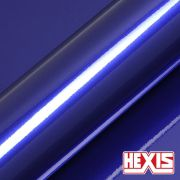 HX30BNEB Neon Blue Gloss - Escolha entre metro linear ou rolo fechado