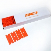 Lâmina plástica dupla para raspador de vinil (caixa com 20 un)