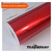 NOVO! Teckwrap - True Blood Gloss Aluminium - GAL01 - S