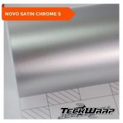 NOVO! - Teckwrap - Silver Sage Satin Chrome - VCH411-S