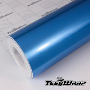 GAL13 Gloss Aluminium Olympic Blue - Escolha entre metro linear ou rolo fechado