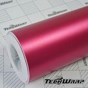 Teckwrap - VCH304 Matte Chrome Royal Pink - Metro linear ou rolo fechado