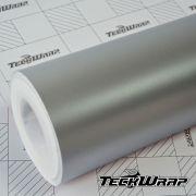 VCH311 Matte Chrome Metal Silver - Escolha entre metro linear ou rolo fechado