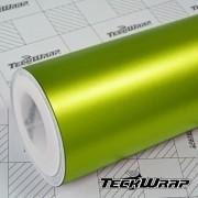 Teckwrap Yellow Lime Matte Chrome  - VCH312