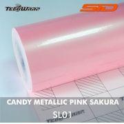Vinil TeckWrap - Candy Metallic Rolo Fechado