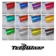 Vinil TeckWrap - Gloss Aluminium - Rolo Fechado