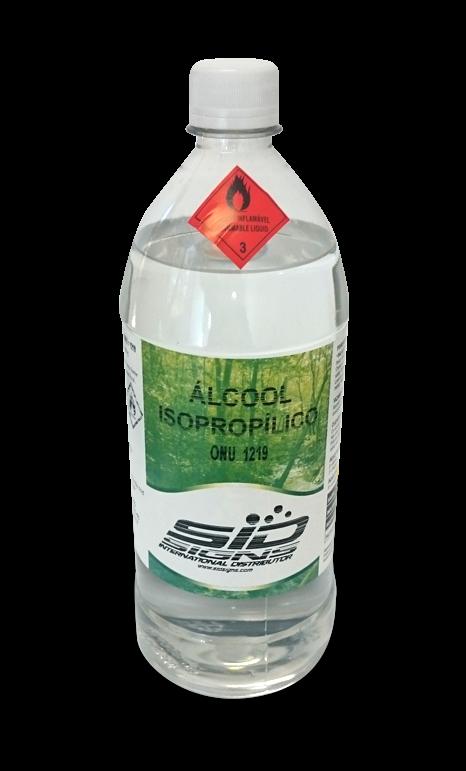 Álcool Isopropílico 1 Litro - Marca SID