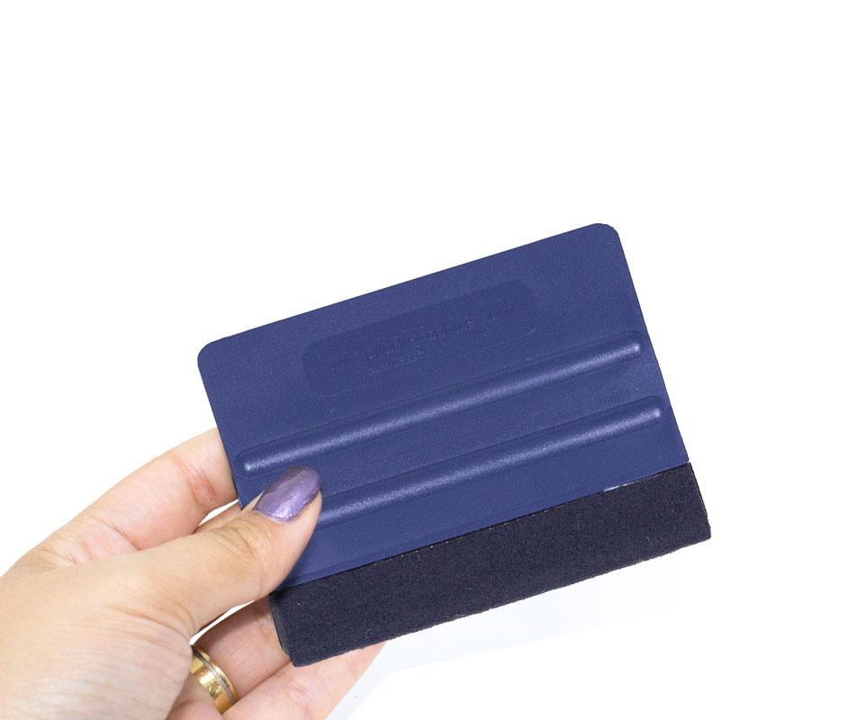 Espátula Azul com Feltro Avery Dennison