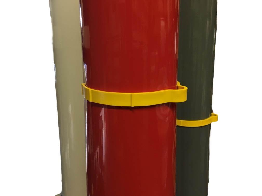 Abraçadeira para Rolo de Vinil SpeedClip 2.0 (10 unidades)