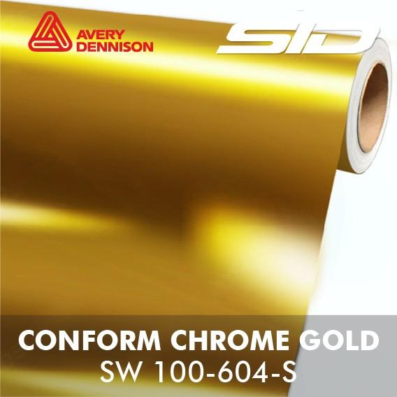 Avery Dennison -SWF e Conform Chrome - Rolo Fechado