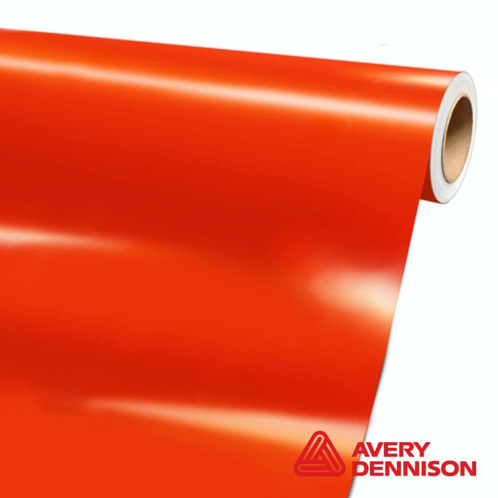 SW-900-370-O Orange Gloss - Escolha entre metro linear ou rolo fechado
