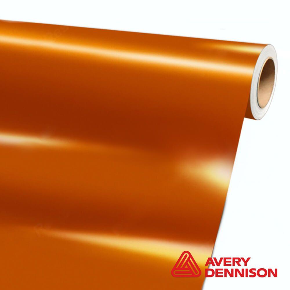 SW-900-326S Pearl Gold Orange Gloss - Escolha entre metro linear ou rolo fechado