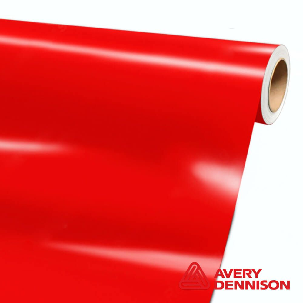 Avery Dennison - Red Gloss - SW-900-415-O