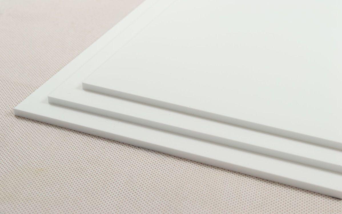 Chapa de Acrílico Cast Branco  1050x2050mm - SID